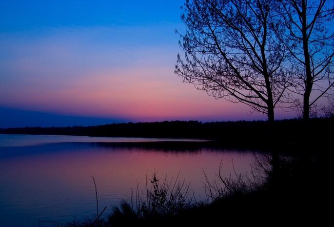 Розовый рассвет на море картины смотреть - 6