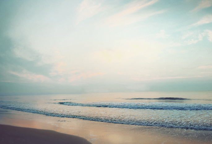 Небо море океан лето облака пейзаж