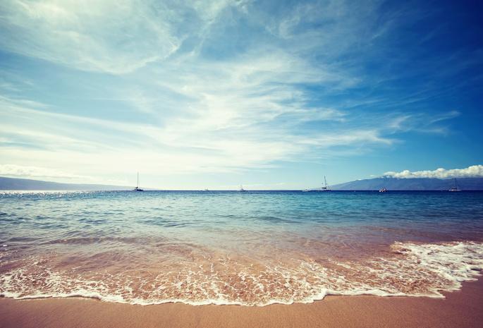 Облака песок море природа пейзаж