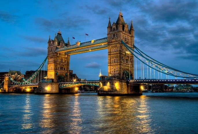 Лондон англия england tower bridge london uk thames