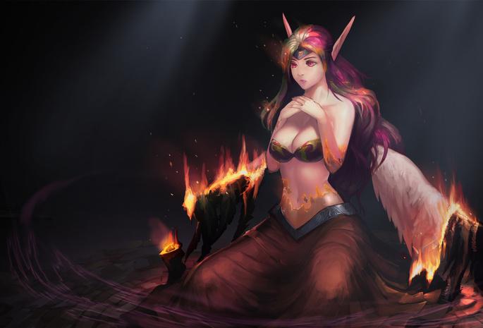 Демон женщина секси