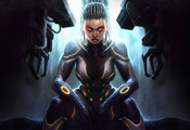 Starcraft 2, hots, heart of the swarm, sarah kerrigan, сара керриган
