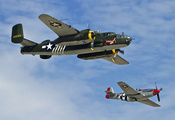 lemoore - reeves field, North american b-25j mitchell and north american p- ...