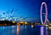 england, лондон, river, London eye, англия, london, thames, uk