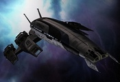 Normandy, нормандия, space, mass effect, sr-2, космос, масс эффект
