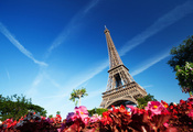 франция, париж, france, eiffel tower, Paris, la tour eiffel