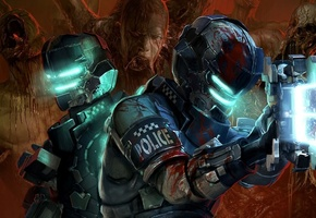 Dead space 2, твари, dead space, мутанты, мертвый космос