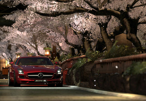 photo mode, mercedes benz sls amg, kyoto shirakawa, Gran turismo 5
