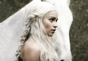 daenerys targaryen, игра престолов, кхалиси, emilia clarke, Game of thrones