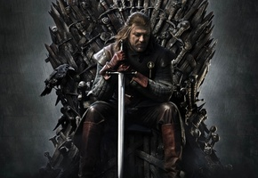 A song of ice and fire, winter is coming, game of thrones, winterfell, george martin, sean bean