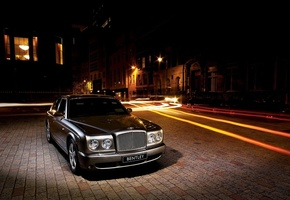 Bentley, arnage, улица, шлейф