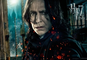 part 2, hp 7, hogwarts, alan rickman, harry potter and the deathly hallows, Harry potter 7