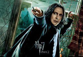 harry potter and the deathly hallows, alan rickman, part 2, hp 7, Harry potter 7, hogwarts