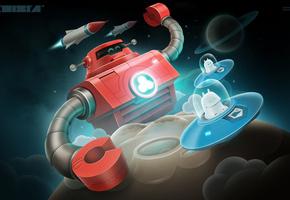 SPI Starforce Alpha Centauri Board Game  amazoncom
