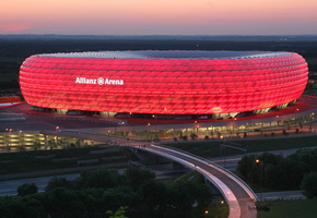 германия, альянц арена, Allianz arena, мюнхен, germany, munich, stadium