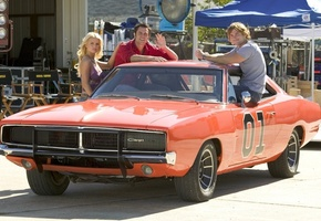 the dukes of hazzard, dodge, 1969, general lee, Придурки из хаззарда, charger