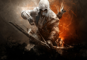 Assassins creed 3, assassin, ����� �����, connor kanwey, ������ ������