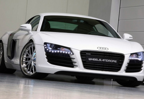 car, Audi r8 wheelsandmore, tuning, 2560x1600, машина