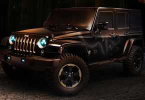 ренглер, концепт, дракон, concept, джип, Jeep, wrangler, dragon